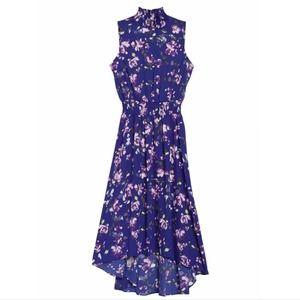 Nanette Lepore High Low Floral Print Dress Size 8